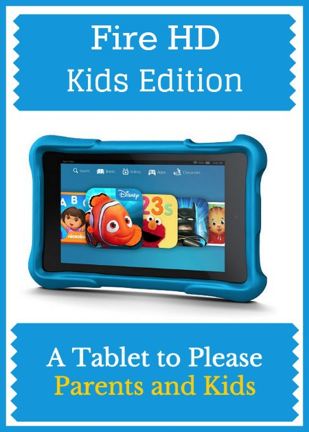 Fire HD Kids Edition – A Tablet to Please Parents and Kids