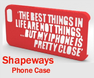 iPhone Case 3D Printed