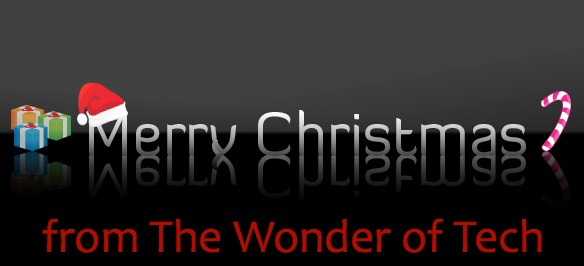 Merry Christmas from The Wonder of Tech