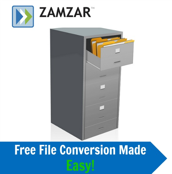 Zamzar File Conversion Website