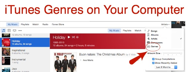 iTunes Holiday Music