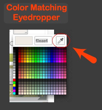 Color Matching Eye Dropper