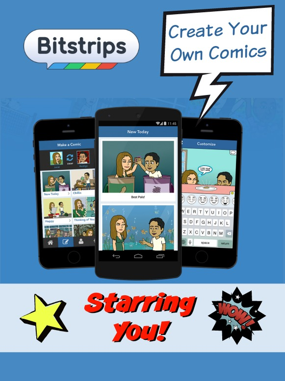 Bitstrips Create Your Own Comics Starring You