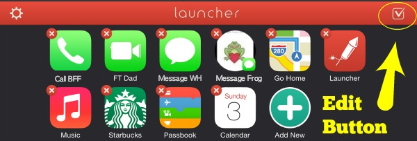 Launcher Add Icons
