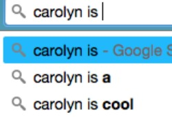 Google Your Name