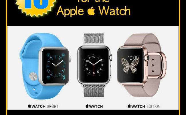 10 Best Apps for the Apple Watch (That May Make You Crave One)