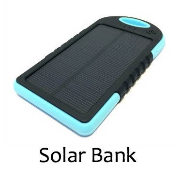 Solar Battery Pack Blue