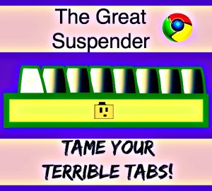 The Great Suspender Chrome Tabs