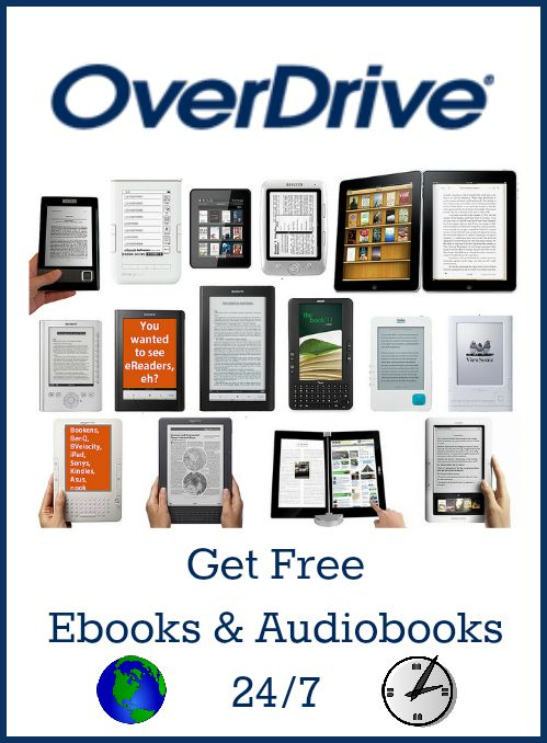 OverDrive: Get Free Ebooks and Audiobooks 24/7