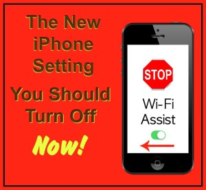 The New iPhone Setting You Should Turn Off Now!