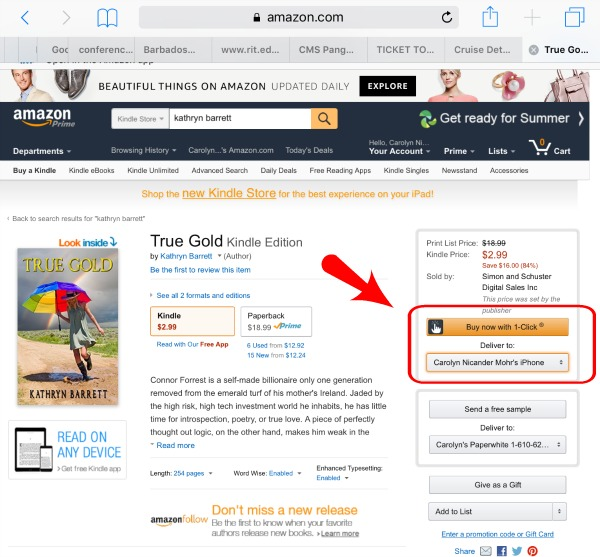 want to buy kindle books on your ipad or iphone here s how