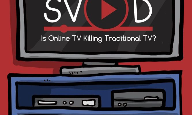 Is Online TV Killing Traditional TV? [Infographic]