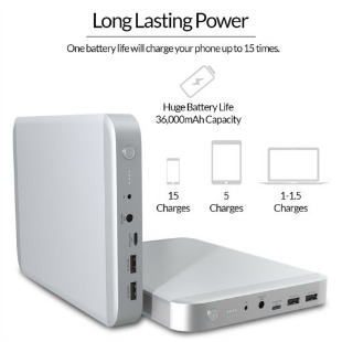 ChargeTech Laptop Battery Pack