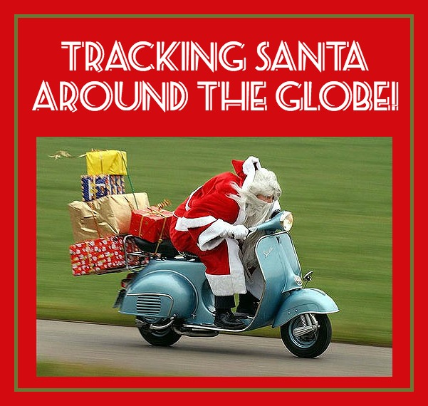 Tracking Santa Around the Globe!