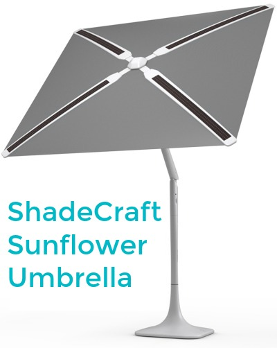 ShadeCraft Sunflower Umbrella
