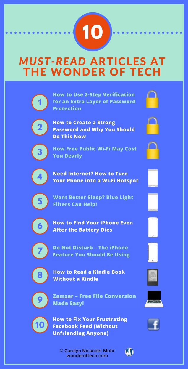 10 Must Read Wonder of Tech Articles Infographic