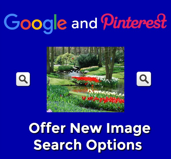 Google and Pinterest Offer New Image Search Options