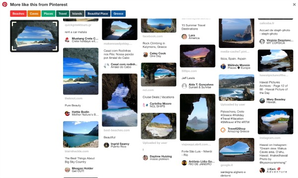 Pinterest Related Pins Search Chrome