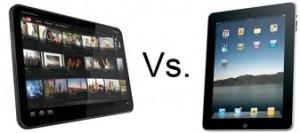 Xoom, iPad