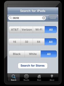FindOne, iPad