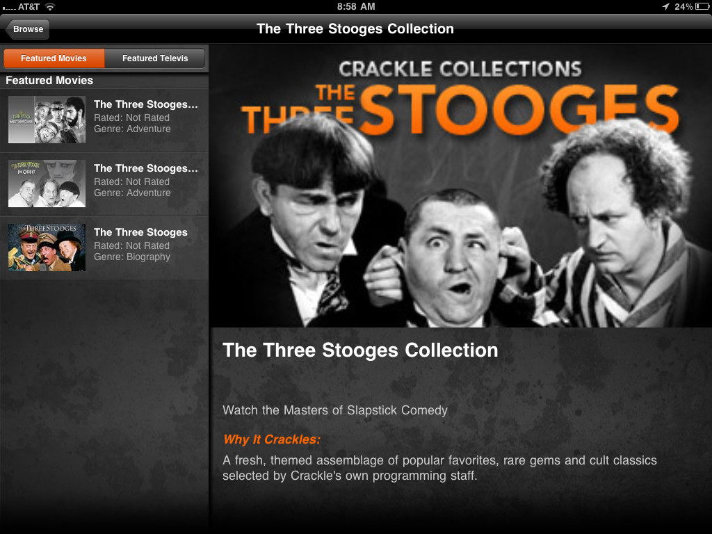 Crackle Three Stooges
