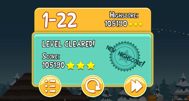 Angry Birds High Score