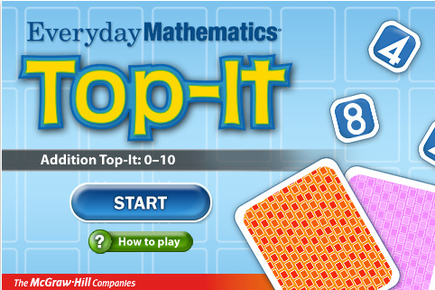 Top-It, McGraw-Hill, Math App
