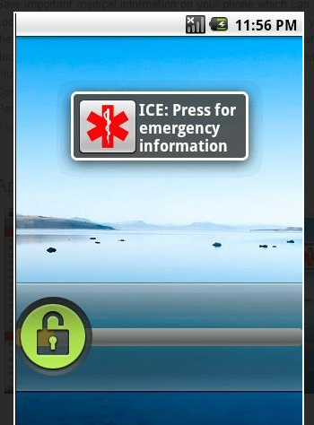 Emergency Information ICE - Android Market
