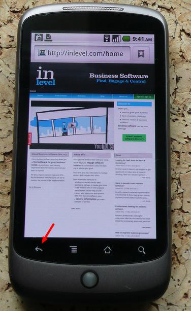 Nexus One Android