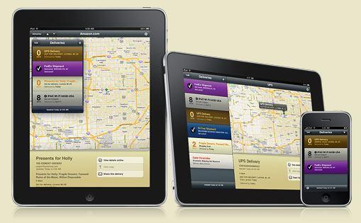 Deliveries iPad iPhone iPod