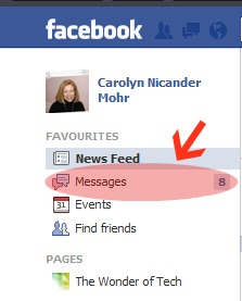 how to change who can message you on facebook
