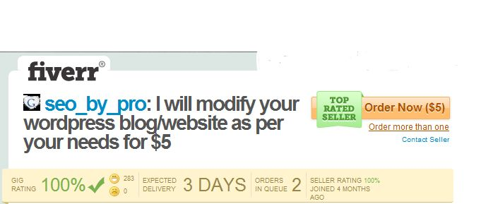 Fiver SEO by Pro