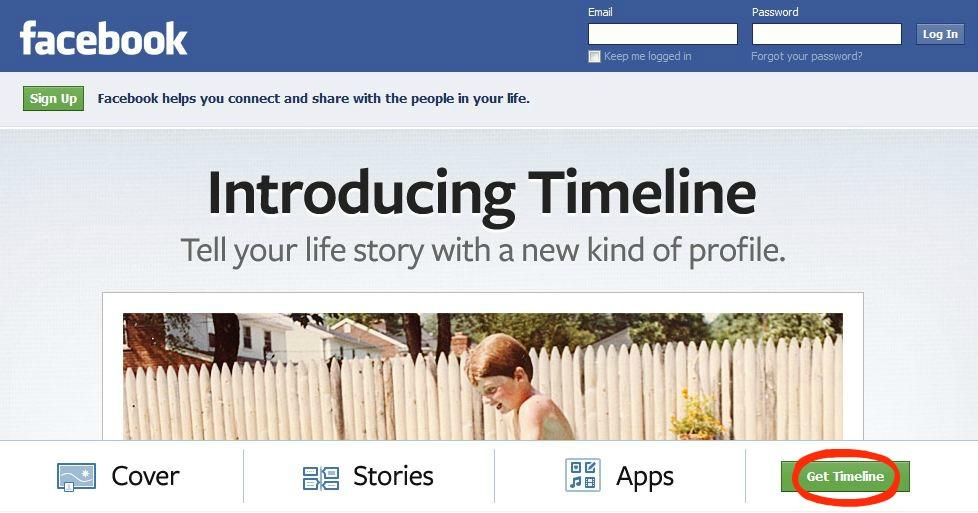 Facebook Timeline Activate