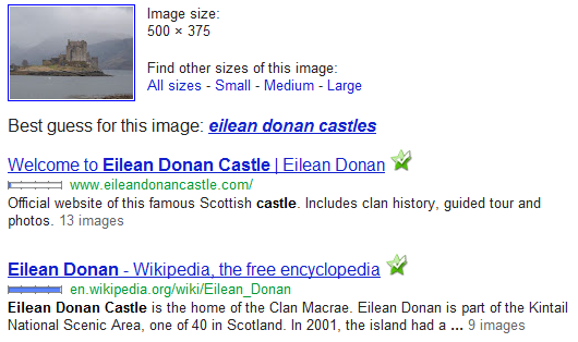 Image search Google