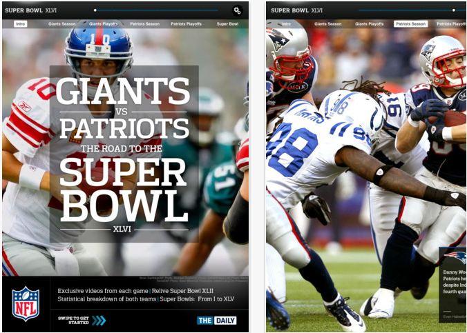NFL Super Bowl App