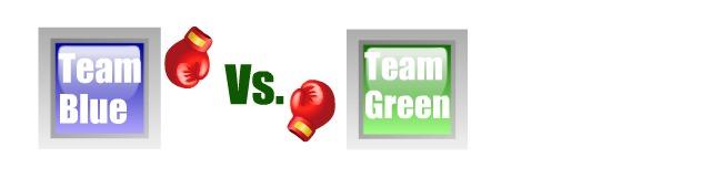 iMessage Team Blue Green