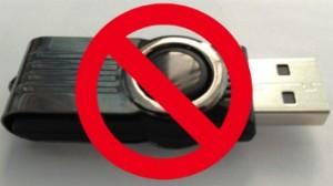 no more thumb drive