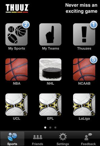 Thuuz App