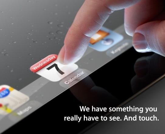 Apple iPad 3 Invitation
