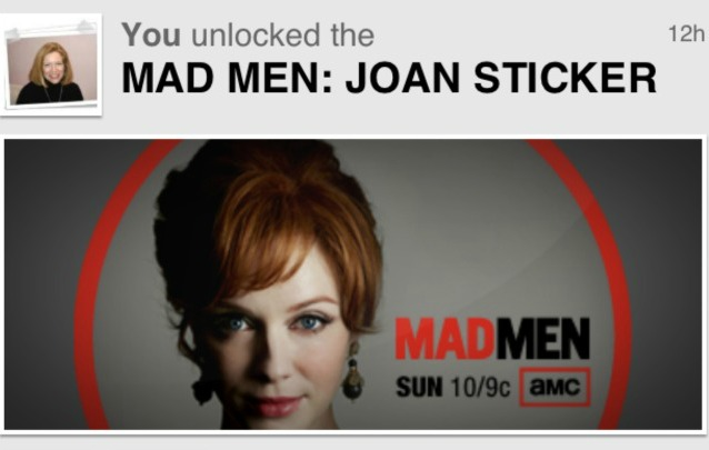 GetGlue Mad Men