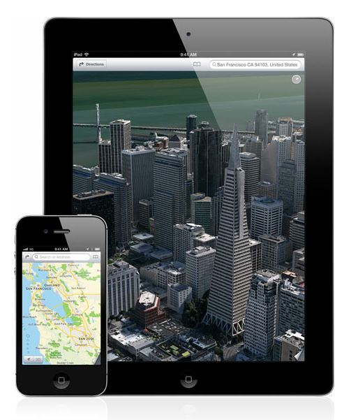 iOS 6 Maps Flyover