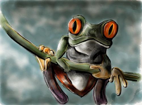 Paper 53 Frog