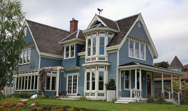 Victorian House in Port Townsend, WA