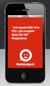 Thank You Again App