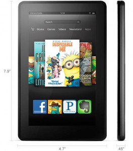 Amazon Kindle Fire HD 2012