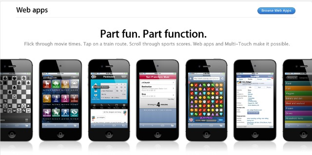 Apple Mobile Web Apps