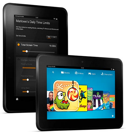 Kindle Fire Parenting