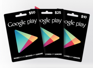 Android Gifts Google Play
