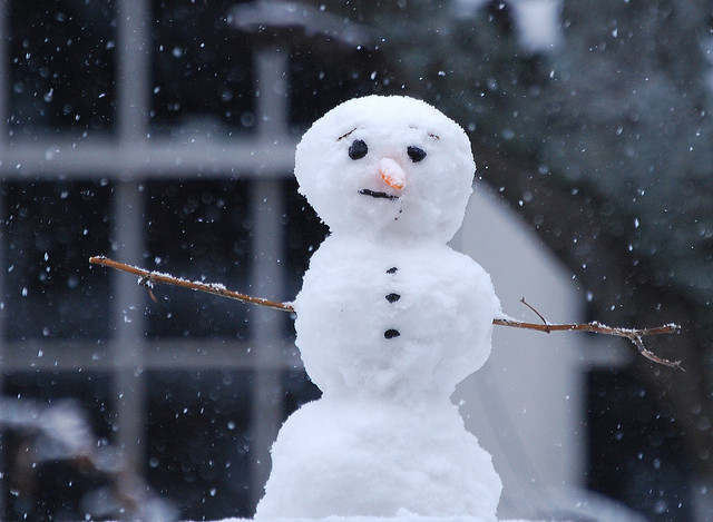 Snowman Flickr