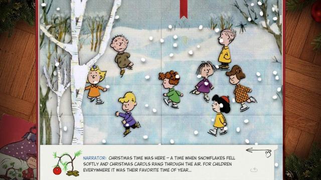 Peanuts Christmas App